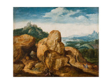 Landscape with Flight into Egypt  Ca 1545