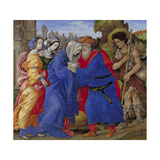Meeting of Saints Joachim and Anne at the Golden Gate  1497