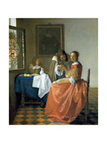 The Girl with the Wineglass  1659-1660