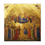 The Coronation of the Virgin, 1434-1435 Giclée par Fra Angelico