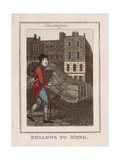 Bellows to Mend  Cries of London  1804