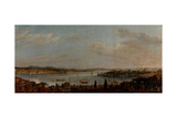 Panoramic View of Istanbul  Second Half of the 18th C