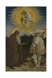 The Virgin and Child with Saints Anthony Abbot and George  C 1440
