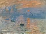 Impression, Sunrise (Impression, Soleil Levan), 1872 Giclée par Claude Monet