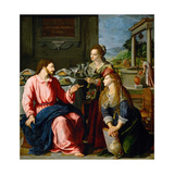 Christ in the House of Martha and Mary  1605