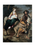 The Flight into Egypt  Between 1645 and 1649