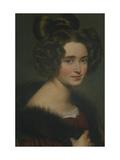 Portrait of Olimpiada Ryumina  1826