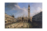 The Piazza San Marco in Venice  Ca 1723-1724
