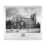 Westminster Abbey and St Margaret's Church  London  1830