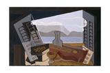 La fenêtre ouverte (1921) Giclée par Juan Gris
