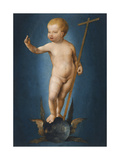 The Infant Christ on the Orb of the World  Ca 1530