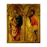 Apostles Saint James and Saint Bartholomew  Ca 1345