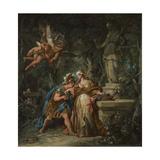 Jason Swearing Eternal Affection to Medea  1743