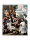 The Lamentation over Christ with a Donor  C1535