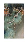 Swaying Dancer (Dancer in Gree), 1877-1878 Giclée par Edgar Degas