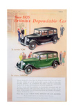 Austin Car Advert  1935