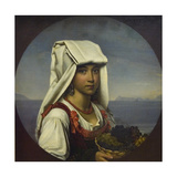 Neapolitan Girl with Fruits  1831