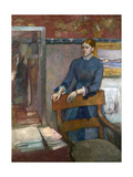 Hélène Rouart in Her Father's Study  C 1886