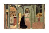 Saint Thomas Aquinas in Prayer  Ca 1428-1432