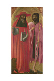 Saints Jerome and John the Baptist  Ca 1428-1429