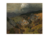 In the Crimean Mountains  1886