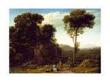 Pastoral Landscape with a Mill  1634