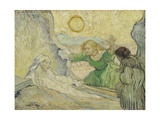 The Raising of Lazarus (After Rembrand)  1890