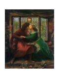 Paolo and Francesca Da Rimini  1867