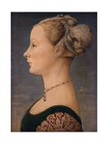 Portrait of a Woman  Second Half of the 15th C