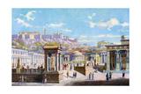 The Agora Below the Acropolis  Athens  Greece  1933-1934