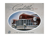 Poster Advertising a Cadillac  1947