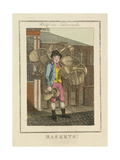 Baskets!  Cries of London  1804