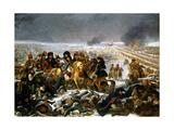 Napoleon on the Battlefield of Eylau  1807