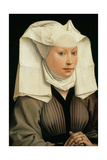 Portrait of a Woman with a Winged Bonnet  C 1440