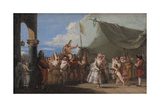 The Triumph of Pulcinella  1760-1770