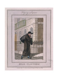 Old Clothes!  Cries of London  1804