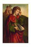 Saint John the Evangelist Weeping  C 1500