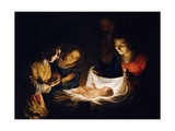 The Adoration of the Christ Child  C 1620