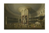 London: Interior of the Rotunda at Ranelagh  1754