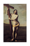 Christ Embracing the Cross
