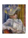 Woman with a Hat (Femme Au Chapea)  1891