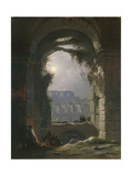The Colosseum in the Night  Early 1830S