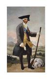 Portrait of Charles III  King of Spain  C 1787