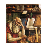 Saint Jerome in His Study (Detail)  1480