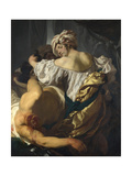 Judith in the Tent of Holofernes  C 1622