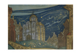 Putivl Stage Design for the Opera Prince Igor  1914