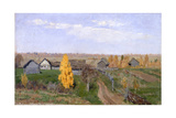Golden Autumn Slobodka  1889