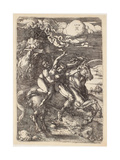 Abduction of Proserpine on a Unicorn  1516