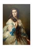 Nadezhda Nikolayevna Rimskaya-Korsakova Née Purgold  C 1870