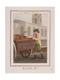 Sand O!  Cries of London  1804